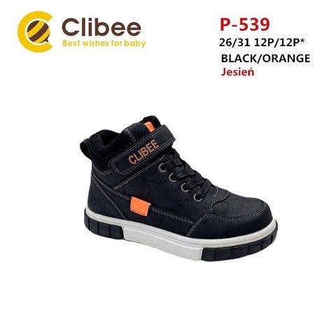 Clibee P539 Black/Orange 26-31