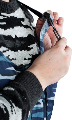 Полукомбинезон утепленный серый КМФ Могилев Грета