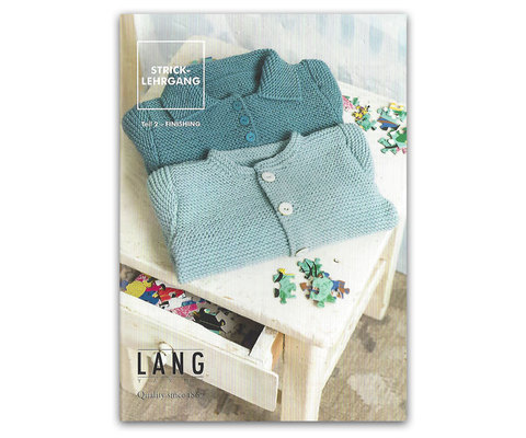 Журнал Knitting Course Part 2 - FINISHING