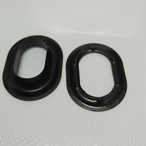 Люверс овальный 22,5 х 13,5  чёрный