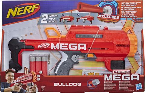 Бластер Hasbro Nerf Мега Бульдог