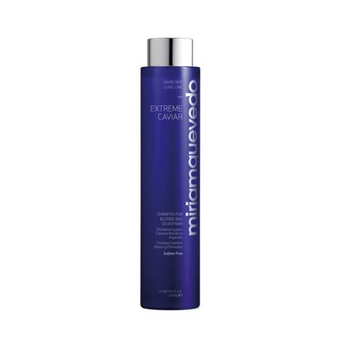 Шампунь для светлых и седых волос с экстрактом черной икры / Miriamquevedo Extreme Caviar Shampoo for Blonde and Silver Hair