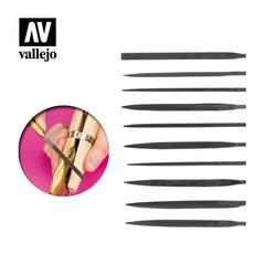 VALLEJO TOOLS: Needle File Set