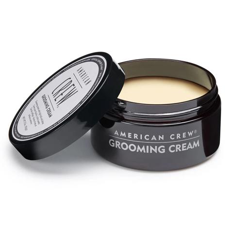 American Crew Styling: Крем с сильной фиксацией и высоким уровнем блеска для мужских волос (Grooming Cream), 85г
