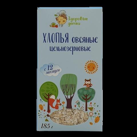 Хлопья овсяные с 12 месяцев ОРГТИУМ, 185 гр
