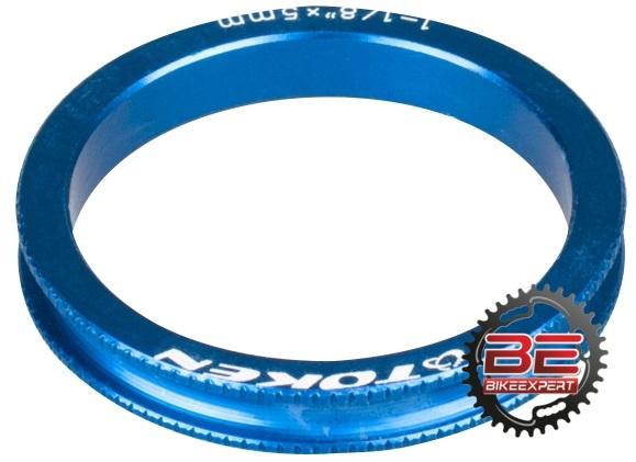 Кольцо проставочное Token 5мм синее