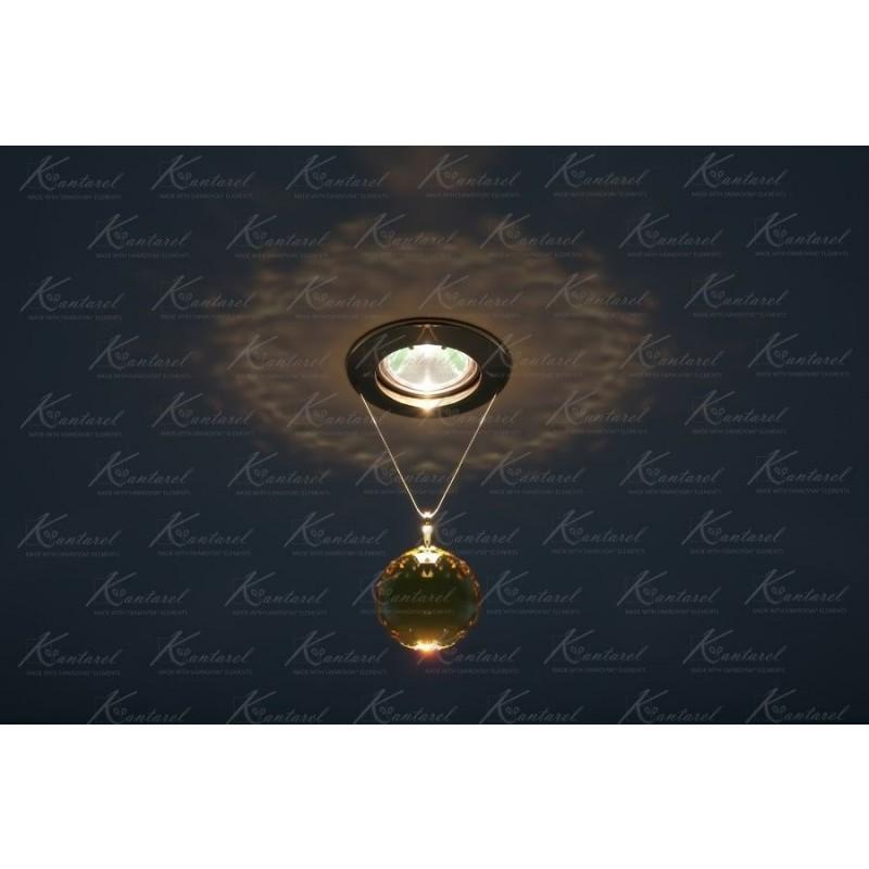 Встраиваемый светильник Kantarel PLANET CD 001.2.10 lt. topaz