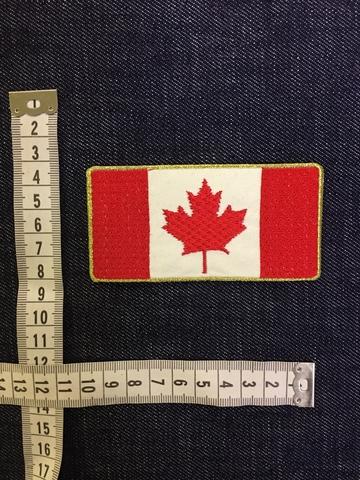 Нашивка Канада размеры