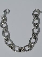 Фантазийный (серебряный браслет)