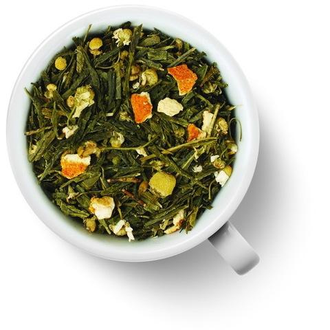 Японская липа, чай зеленый ароматизированный 100 гр