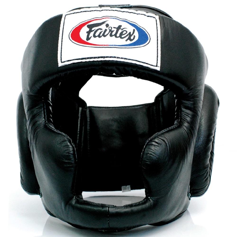 Шлемы Шлем Fairtex Headguard HG3 Black 1.jpg