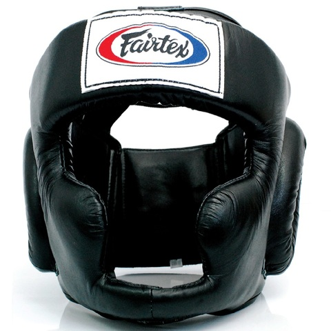 Шлем Fairtex Headguard HG3 Black