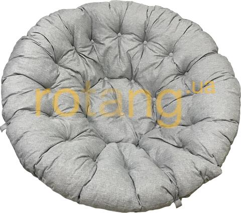 Подушка на кресло Папасан Серая