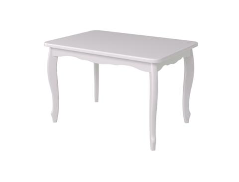Стол обеденный Манул деревянный прямоугольный белый