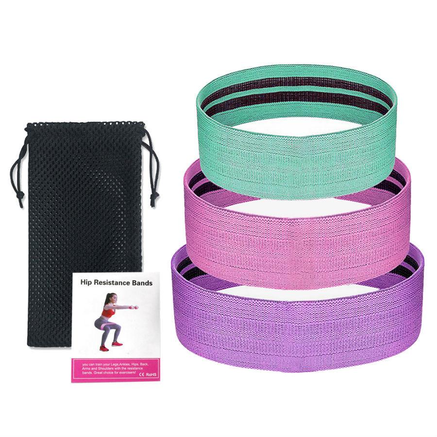 Эластичные ленты и эспандеры для фитнеса Фитнес резинки тканевые Luting Fit, 3 шт fitnes-rezinki-tkanevye-luting-fit.jpg