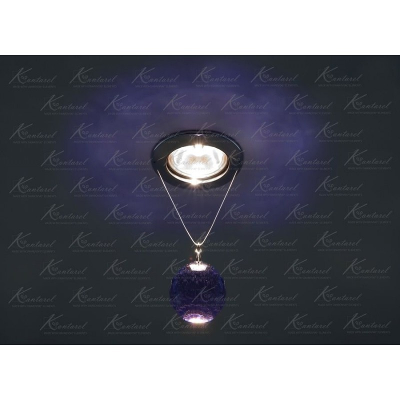 Встраиваемый светильник Kantarel PLANET CD 001.2.11 bl violet