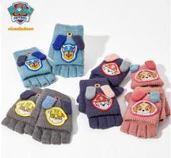 Щенки спасатели трикотажные перчатки для мальчиков и девочек