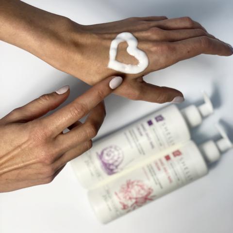 Крем для рук та нігтів з колагеном, еластином і екстрактом півонії Shelly 250 мл (2)