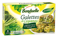 """Овощные галеты """"Бондюэль"""" зеленый букет 300 г"""