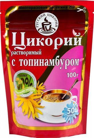 Цикорий растворимый с топинамбуром Русский Цикорий, 100г