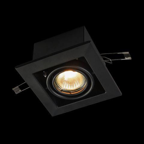 Встраиваемый светильник Maytoni Metal Modern DL008-2-01-B