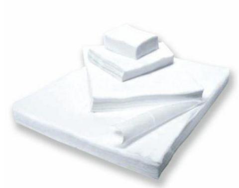 Салфетка спанлейс белый 5х5 см 100 шт/упк