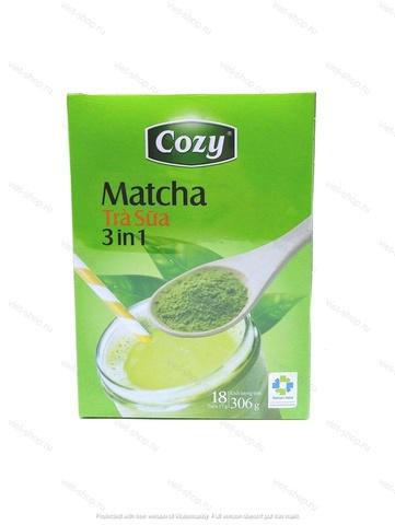 Чай матча (Matcha) 3 в 1 Cozy, Вьетнам, 306 гр.