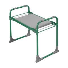 Складная садовая скамейка-перевертыш с мягким сиденьем Nika