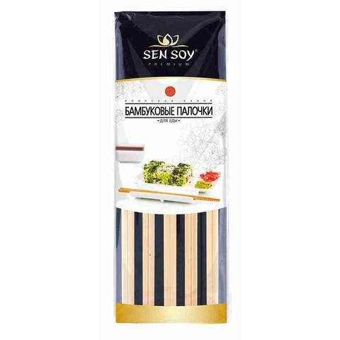 Палочки бамбуковые для еды Sen Soy, 5 пар