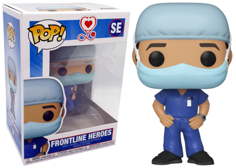 Male Frontline Heroes Funko Pop!