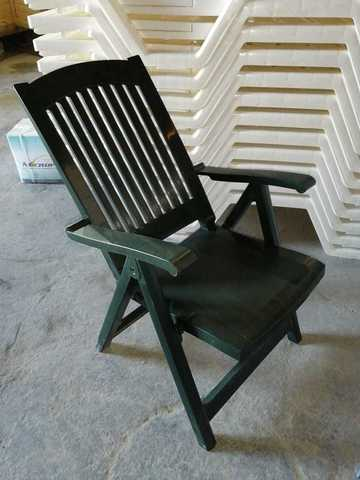 Кресло-шезлонг пластиковое PASA зеленое (Siesta/Турция)
