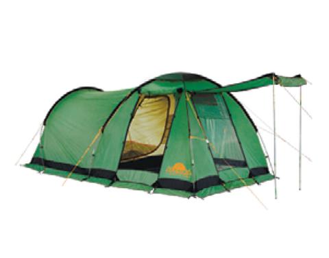 Картинка палатка кемпинговая Alexika NEVADA 4 green, 450x250x175  - 1