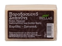 Натуральное оливковое мыло с кокосом Bellas 100 гр