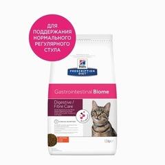 Ветеринарный корм для кошек Hill`s Prescription Diet Gastrointestinal Biome, с чувствительным пищеварением, с курицей