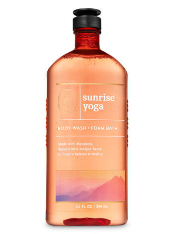 Гель для душа Bath&BodyWorks Aromatherapy Sunrise Yoga 295 мл