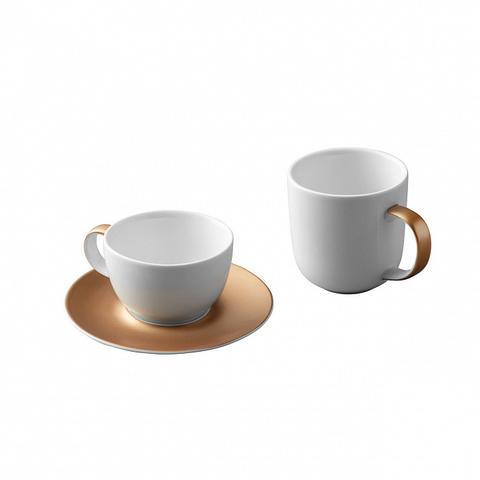 3 пр набор для кофе и чая белый