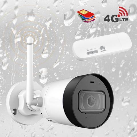 Уличная 4G камера с записью в облако