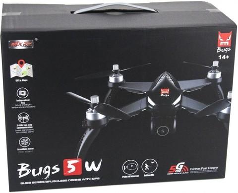 Квадрокоптер MJX Bugs 5W Silver с Full-HD камерой
