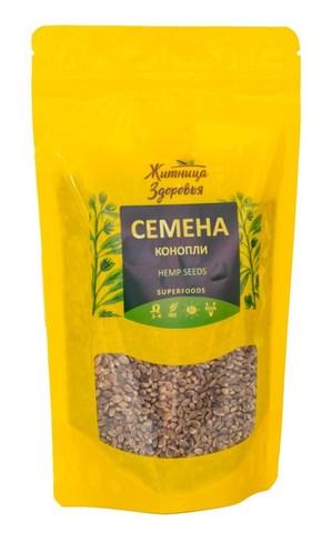 Семена конопли, 180 гр. (Житница здоровья)