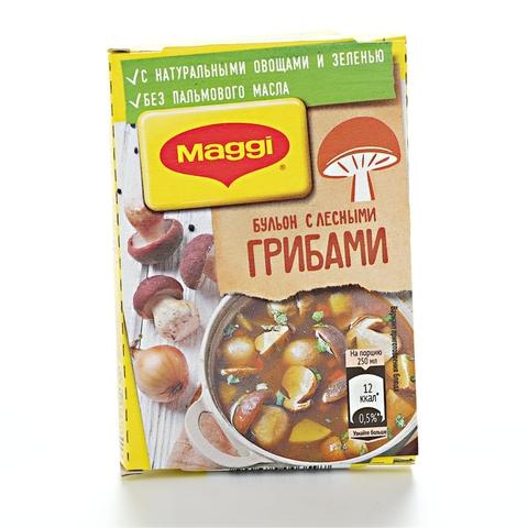 Бульон MAGGI Лесные грибы 72 г РОССИЯ