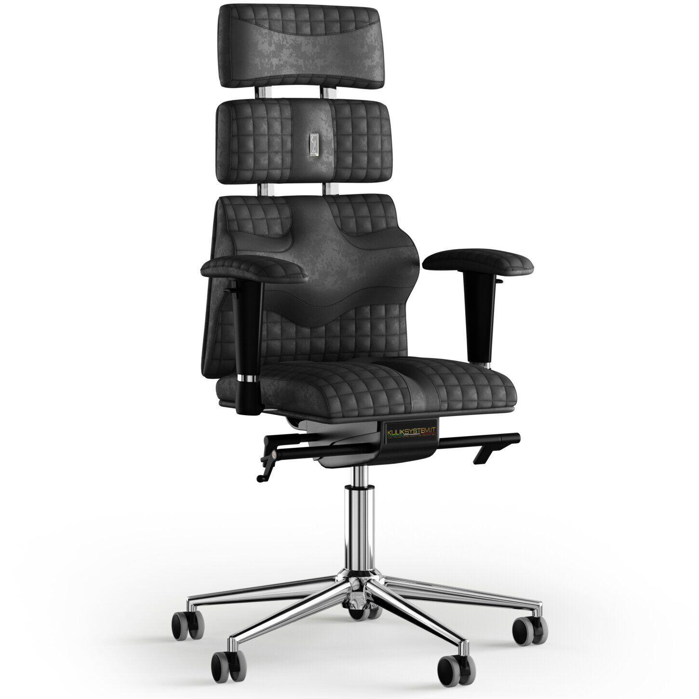 Кресло KULIK SYSTEM PYRAMID Антара с подголовником со строчкой