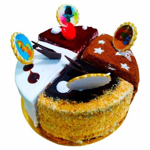 Набор торта Радуга 1 кг