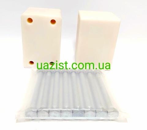 Проставки под серьги рессор Уаз 452, 469, Патриот, Хантер для лифта на 40 мм (пр-во Ульяновск)