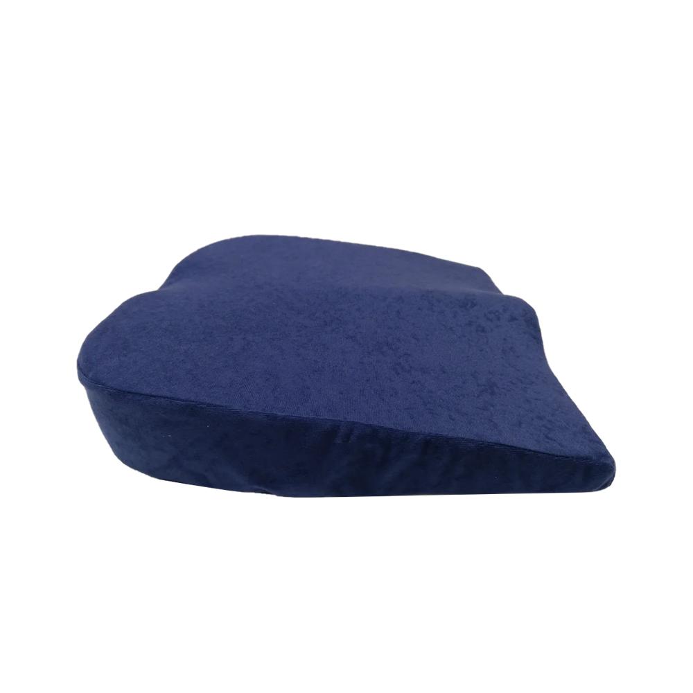 Анатомическая подушка для швей синяя