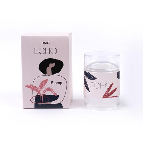 OTE-018 Штамп и скребок для стемпинга. Echo:Stamp