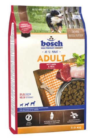 Bosch Adult сухой корм для собак с ягнёнком и рисом 1 кг