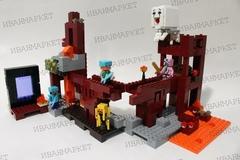 Майнкрафт 10393 Подземная крепость 571 д Конструктор