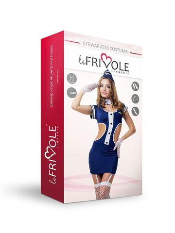 Эротический костюм для ролевых игр Le Frivole Соблазнительная стюардесса, размер S