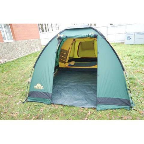 Картинка палатка кемпинговая Alexika NEVADA 4 green, 450x250x175  - 7