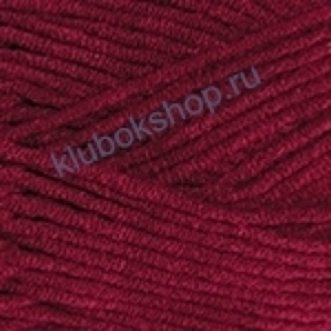 Пряжа YarnArt Jeans PLUS 66 Бордовый